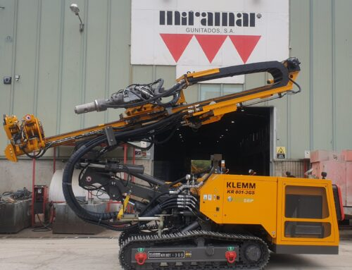 KMMB entrega un vagón KLEMM KR 801-3 GS  Miramar Gunitados, S.A.