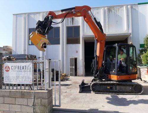 KMMB entrega un manipulador Klemm HBR a Cifreat